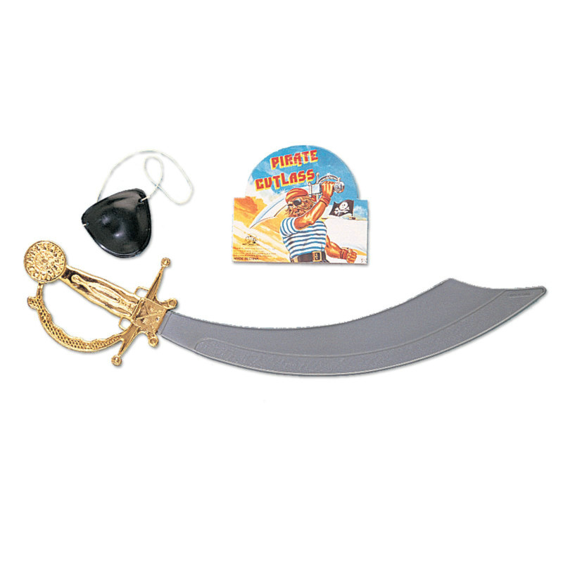 Scimitar Sword & Eye Patch