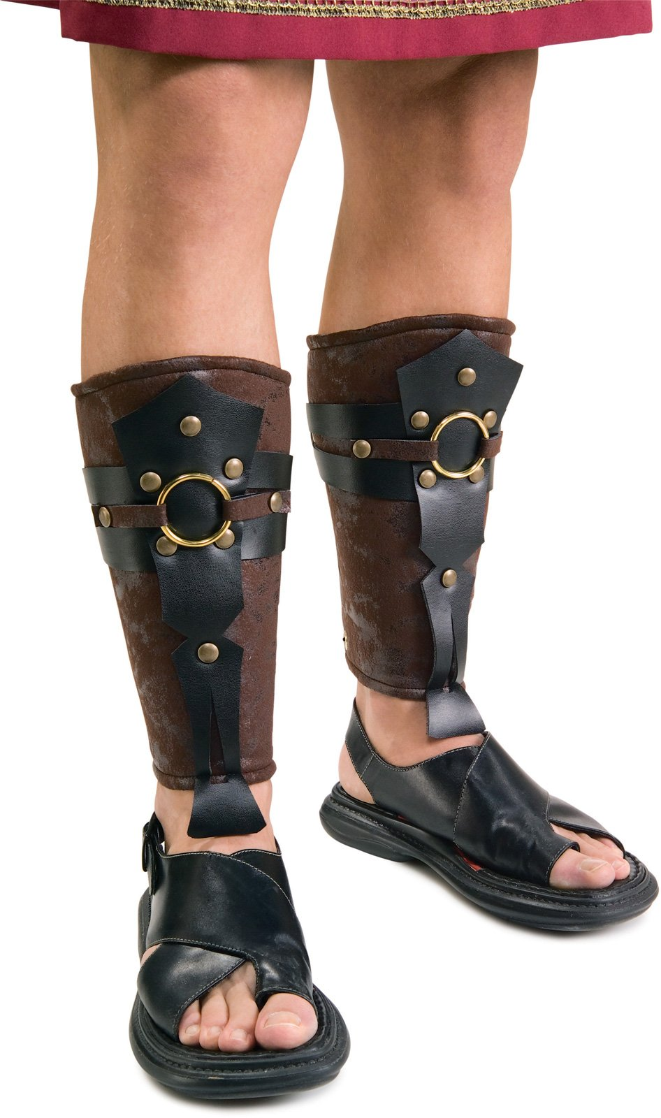 Roman Leg Guards Adult