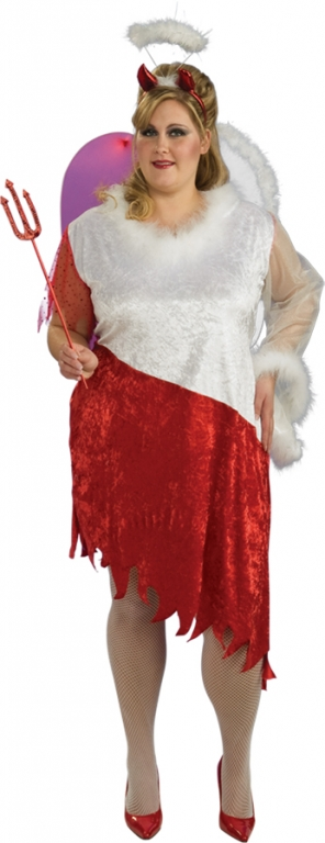 Angel and Devil Plus Size Costume