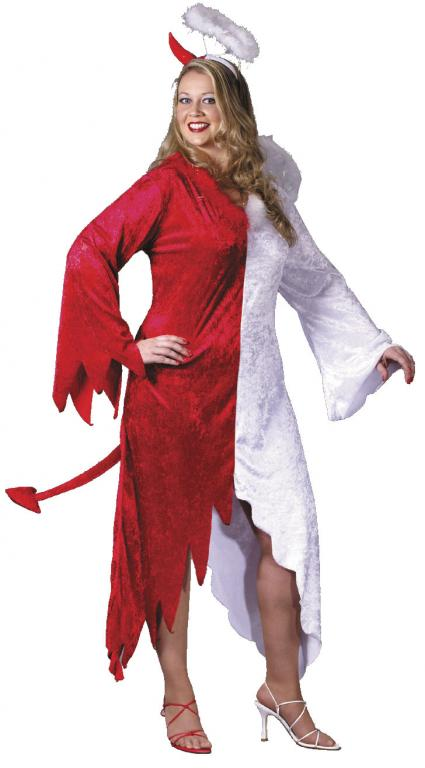 Naughty Or Nice Plus Size Adult Costume