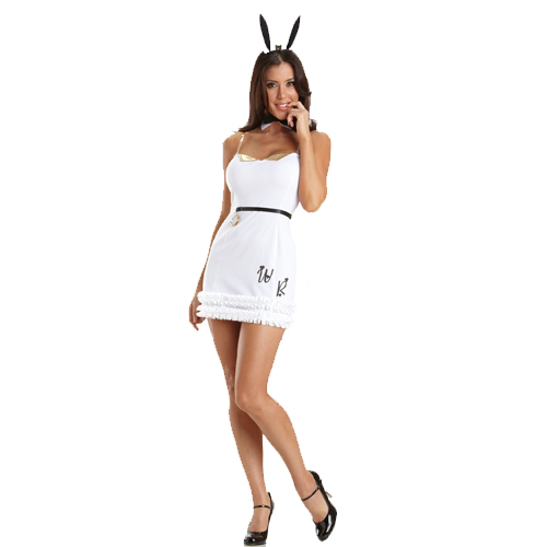 Late Rabbit Sexy Adult Costume
