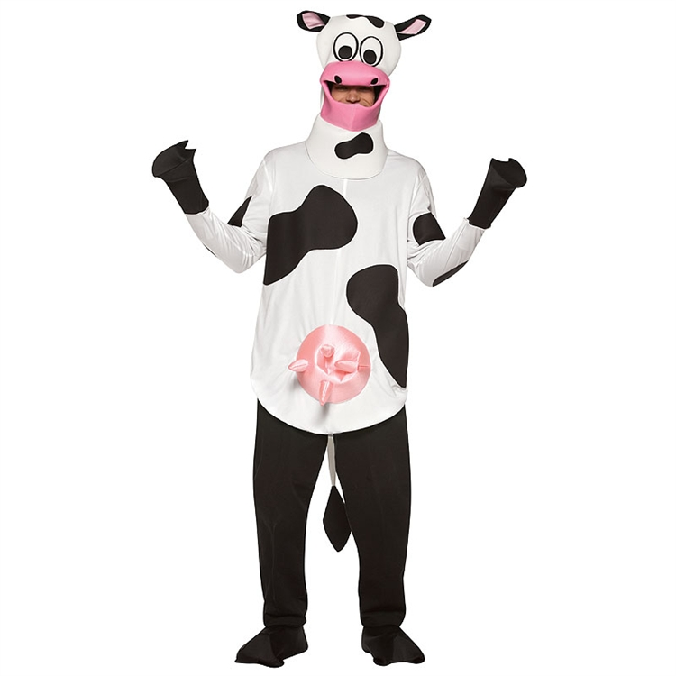 Lightweight Adult Cow Costume