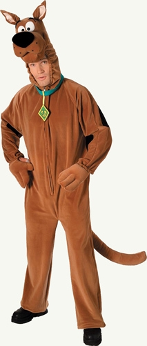 Deluxe Plush Scooby Doo Adult Costume