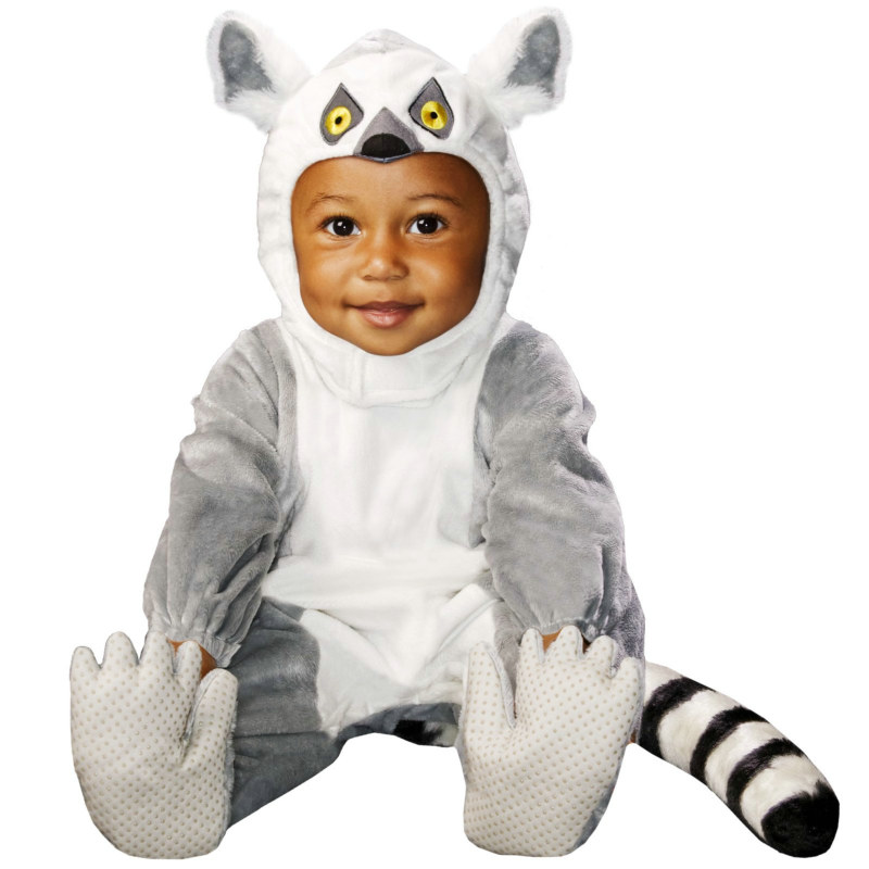 Animal Planet Collector's Edition Ring Tail Lemur Infant Costume