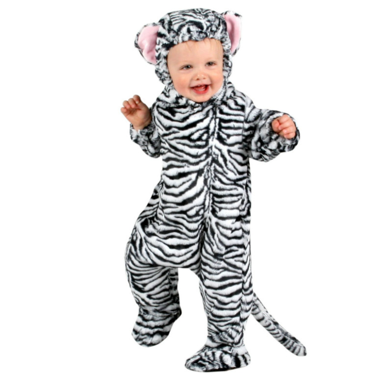 Animal Planet Collector's Edition White Tiger Cub Infant Costume