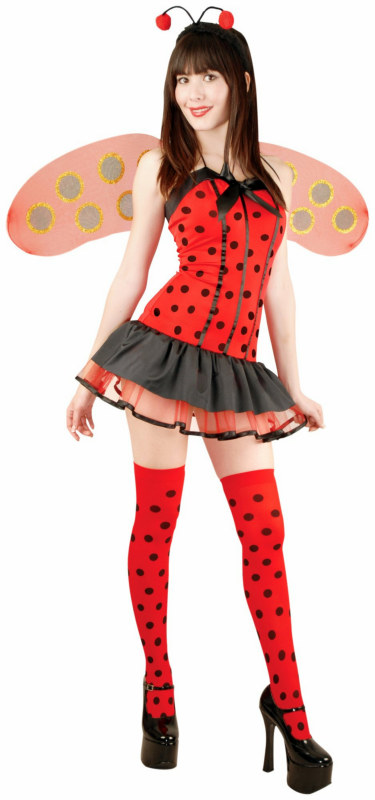 Lady Bug Hottie Adult Costume