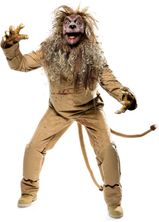 The Wicked of Oz Lion Adult Costume