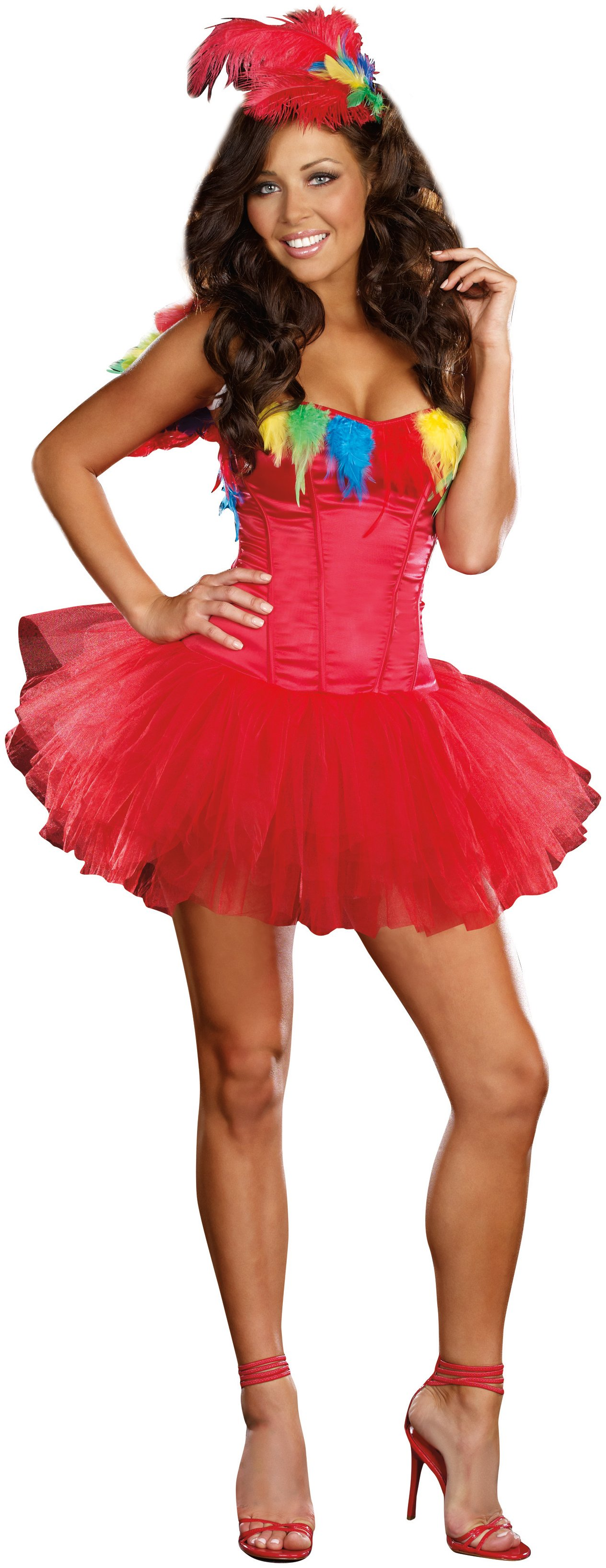 Parrot Princess Adult Costume