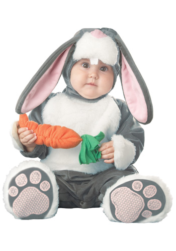 Infant Grey Bunny Costume