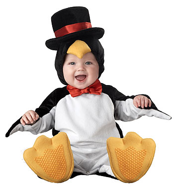 Infant Penguin Costume - Click Image to Close