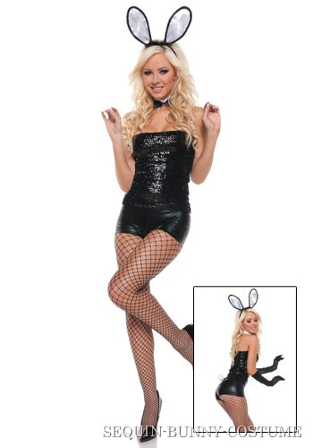Sexy Sequin Bunny Costume