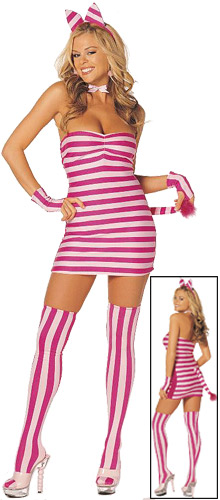 Adult Sexy Cheshire Cat Costume