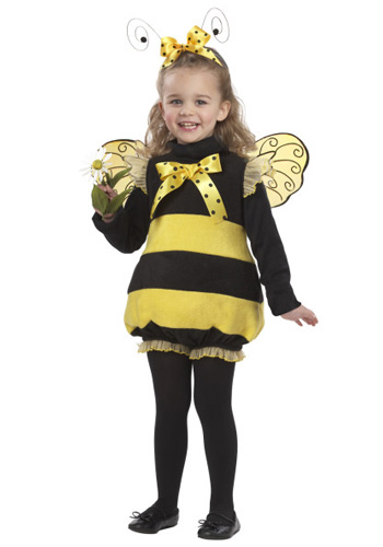 Toddler Bizzy Bee Costume