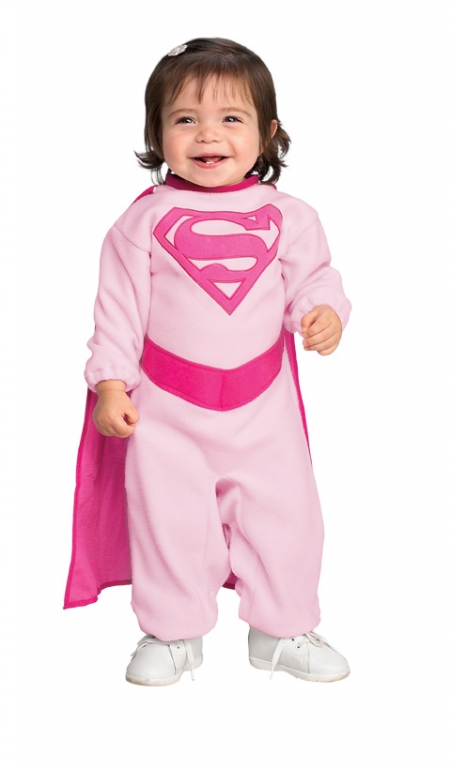 Pink Supergirl Costume