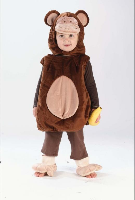 Monkey Vest Infant Costume