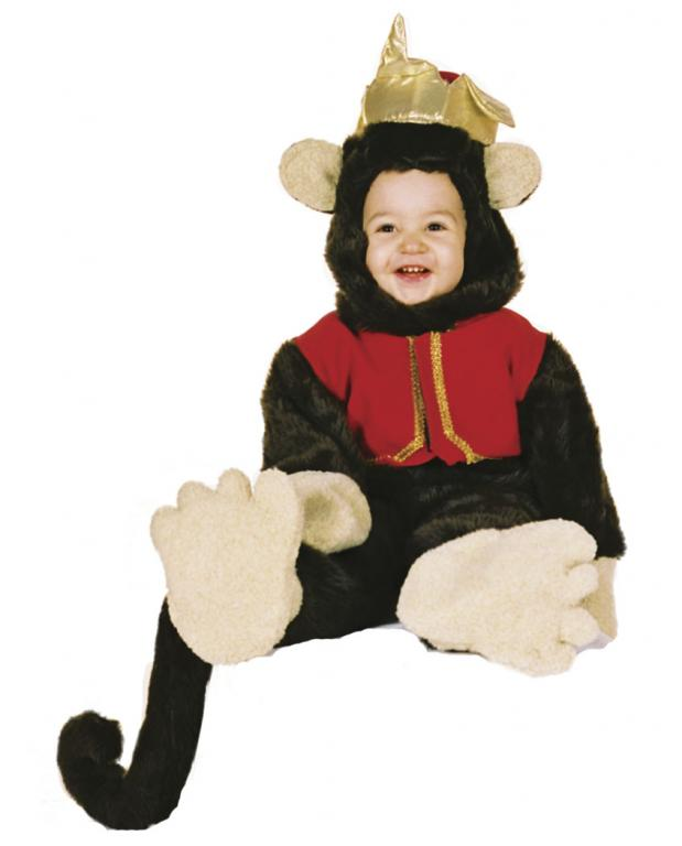 Organ Grinder Monkey Infant Toddler Costume