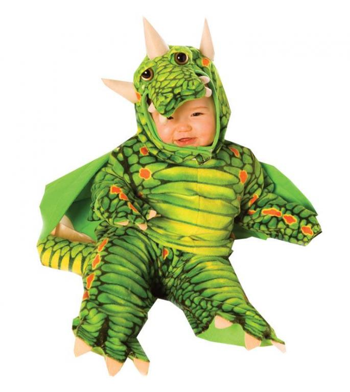 Plush Dragon Infant and Toddler Costume