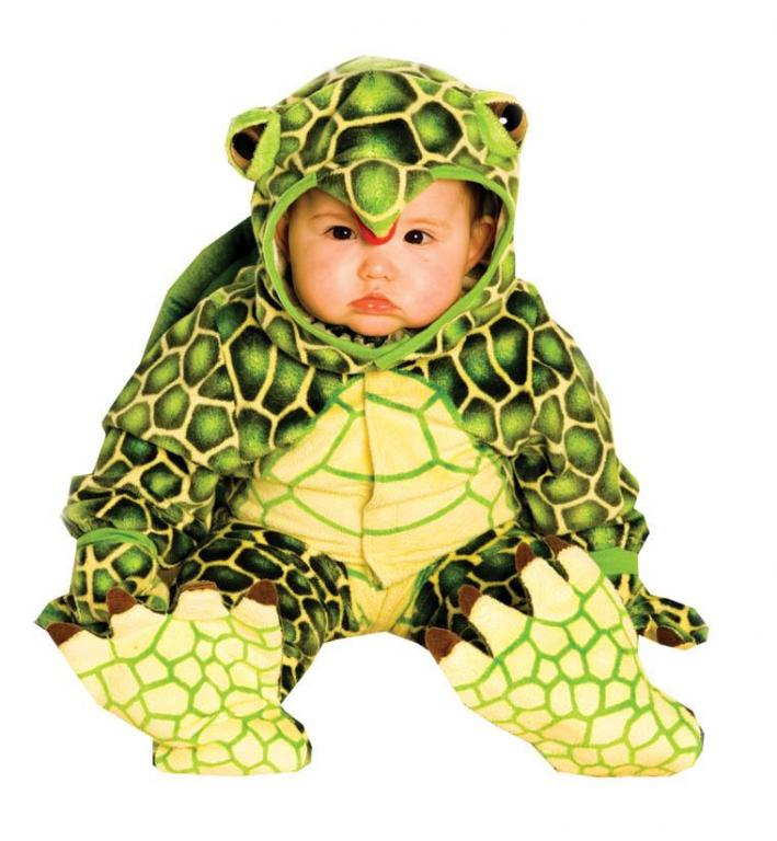 Infant and Toddler Plush Turtle Costume