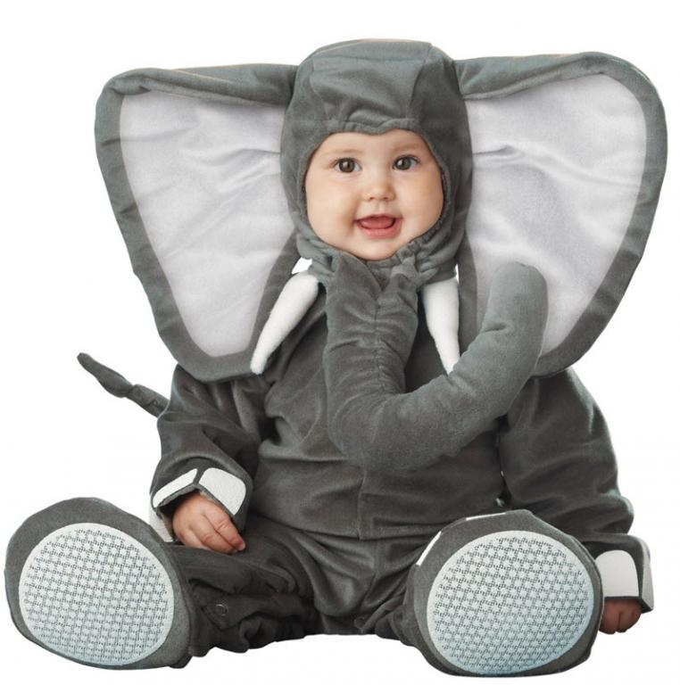 Lil' Elephant Elite Infant/Toddler Costume