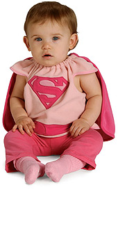 Supergirl Bib Costume