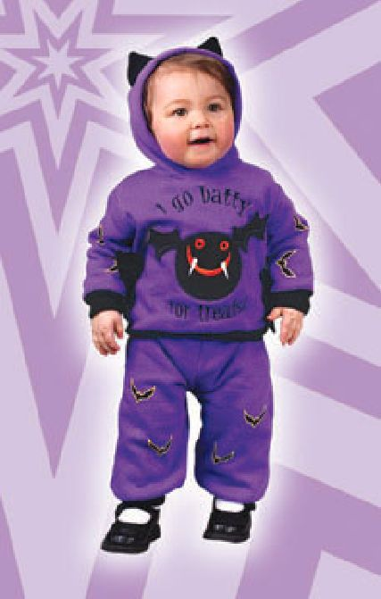 Hooded Bat Infant Costume