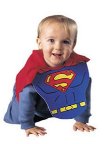 Superman Bib & Cape