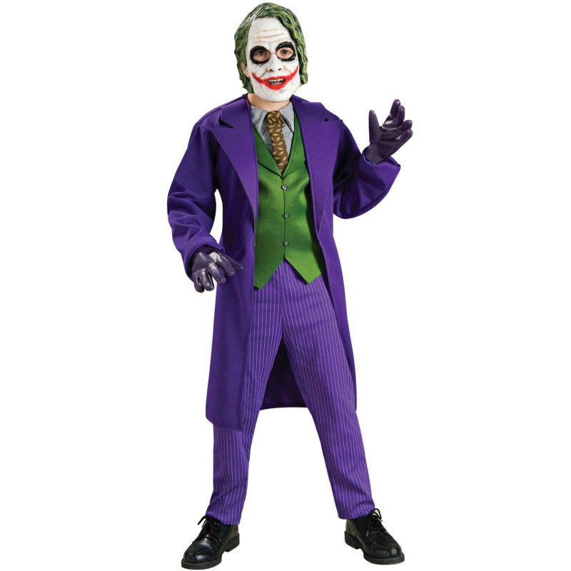 Batman Dark Knight Deluxe The Joker Child Costume