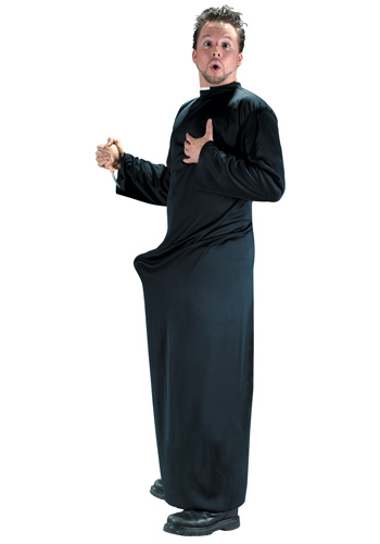 Keep Up the Faith Priest Costume