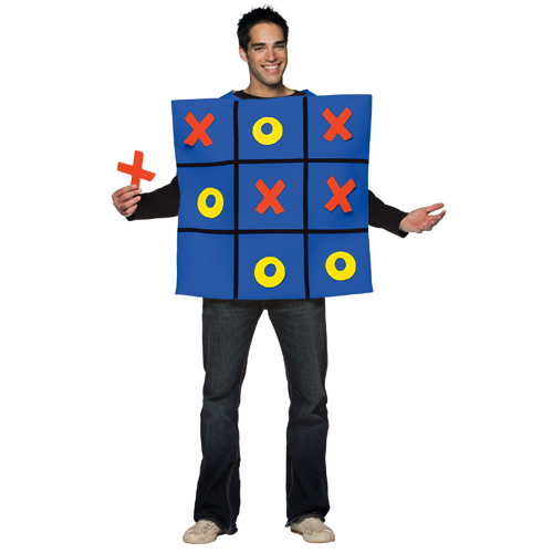 Tic Tac Toe Board Game Adult Costume