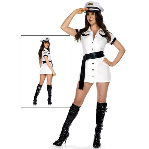 Sexy All Aboard Pilot Costume