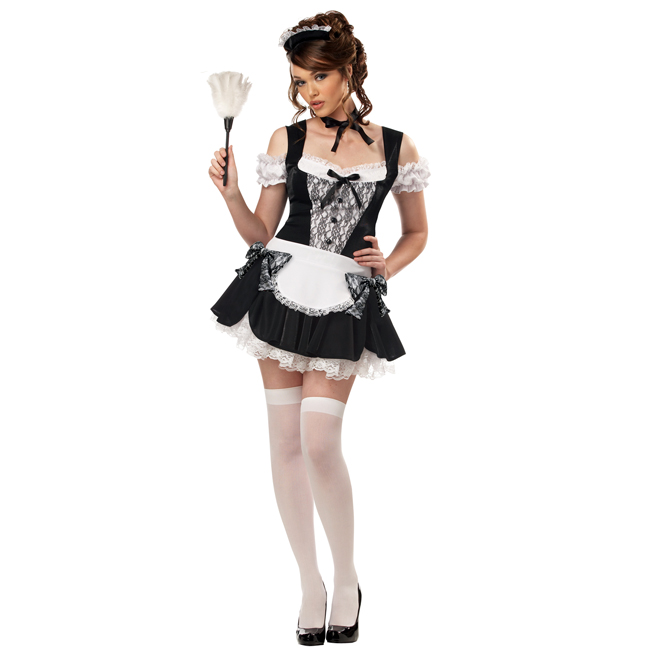 French Kiss Maid Sexy Costume