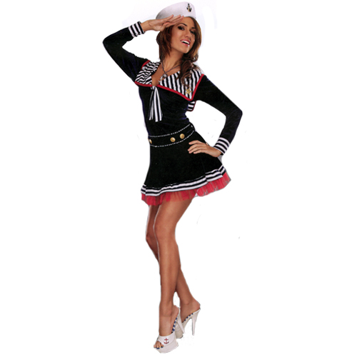 Pin Me Up Sailor Girl Sexy Costume