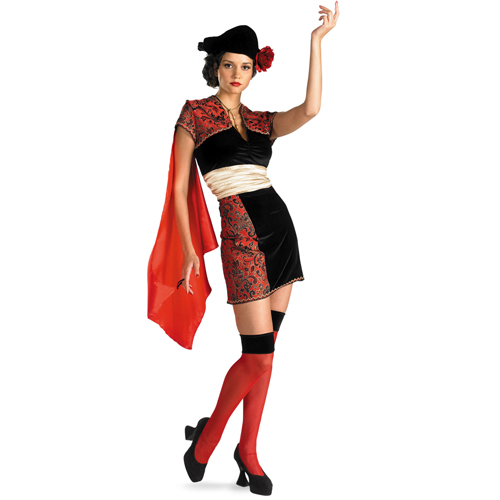Matadora Bull Fighter Adult Costume