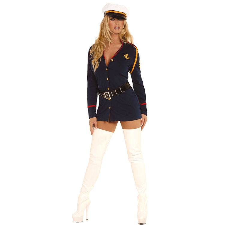 Officer Naughty Adult Military Costume