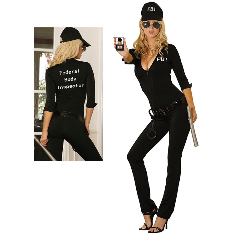 Sexy FBI Agent Adult Costume