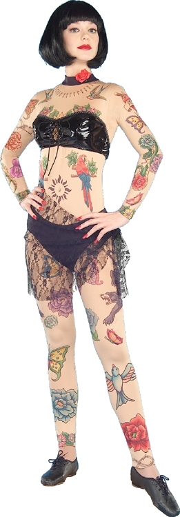 Lydia the Tattooed Lady Adult Costume