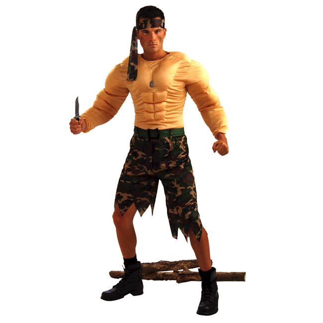 Jungle Commando Adult Costume