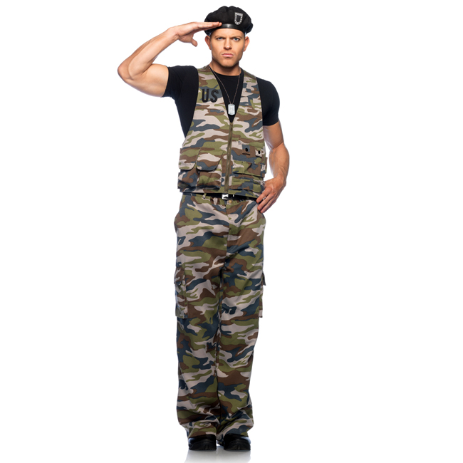 Special Ops Officer Military Adult Costume