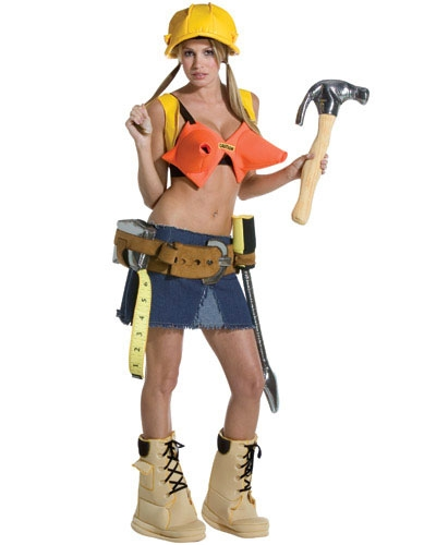 Stud Finder Sexy Construction Worker Costume