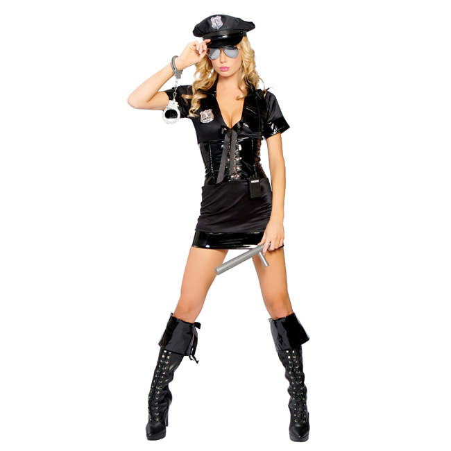 Sexy Traffic Stop Cop Adult Costume