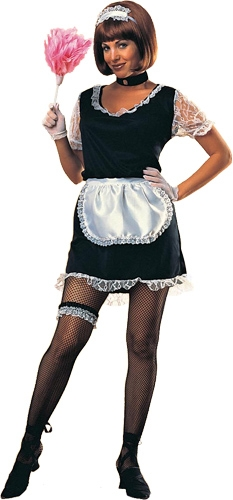 Woman's French Maid Adult Costume
