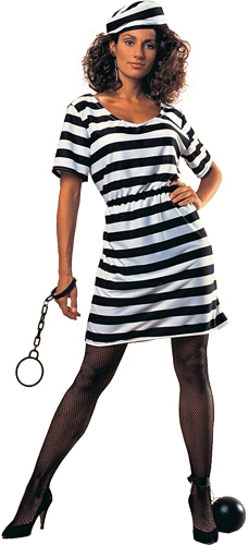 Prisoner Lady Adult Costume