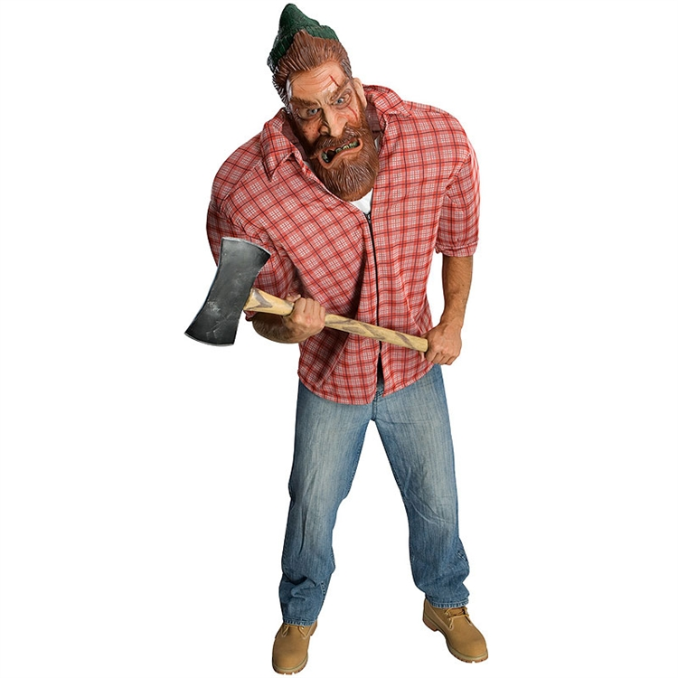 Big Bruizer Lumberin Jack Adult Costume