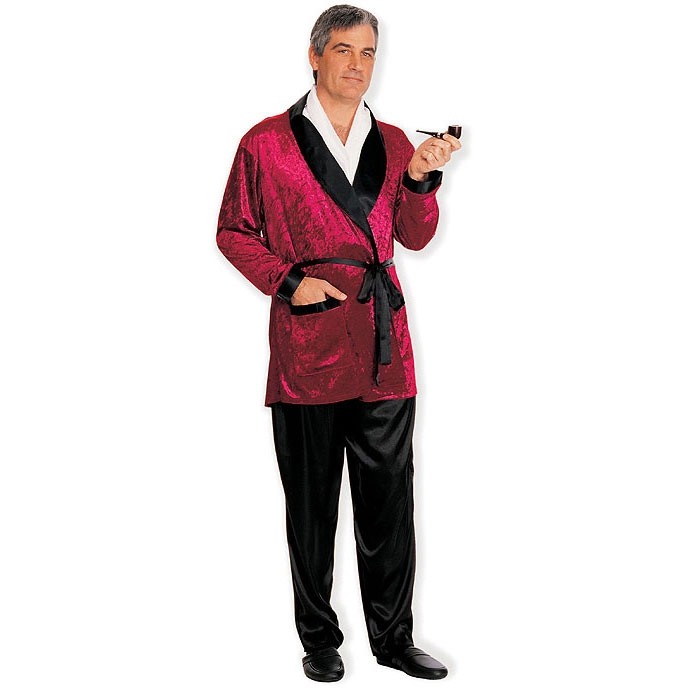 Man of the Mansion Smoking Jacket