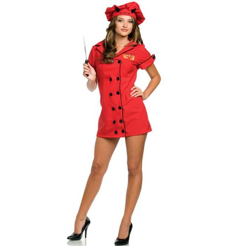Sexy chef halloween costume