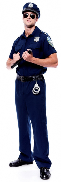 Police Officer Adult Costume Medium