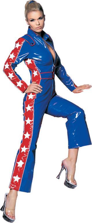 Ted jumpsuit adult costume