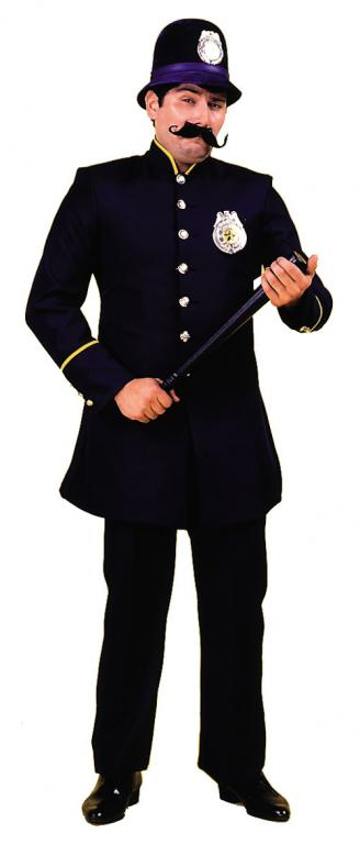 Keystone Cop Adult Costume