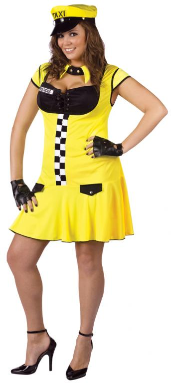 Sexy Cabbie Plus Size Costume