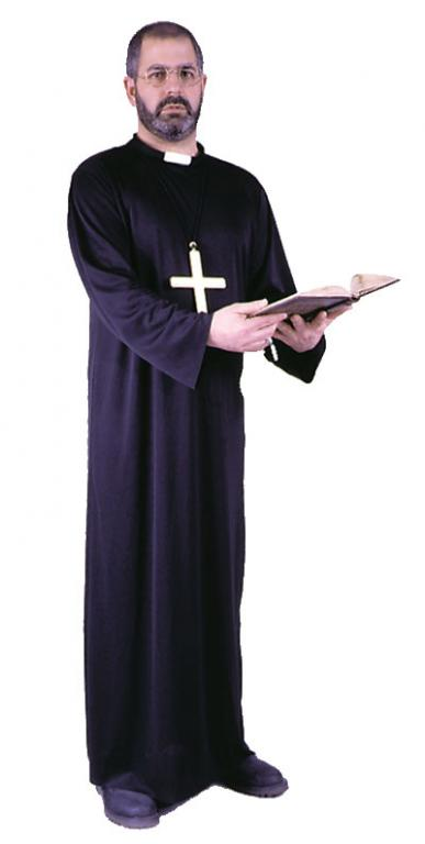 Priest Plus Size Adult Costume